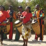 Drumming and dancing at Dedication_6081386497_m