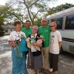 Sister Egidia Receives Bears_6142619318_m